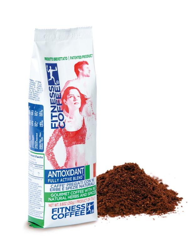 Fully Active Folate With Quatrefolic 400 Mcg: Fitness Coffee Antioxidant Fully Active Blend 250 G Mletá