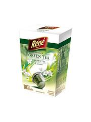 René zelený čaj s jasmínem kapsle pro Nespresso 10ks