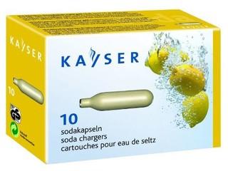 Kayser sifonové bombičky 10ks