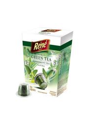 René zelený čaj s mátou kapsle pro Nespresso 10ks