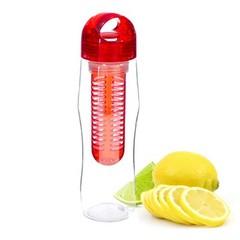 Yoko Design lahev s louhovacím sítkem 730 ml červená