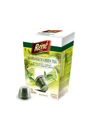 René zelený čaj Marrakech s mátou kapsle pro Nespresso 10ks