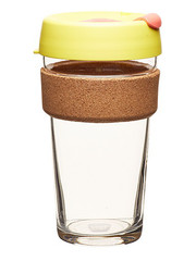 KeepCup Brew Cork Saffron L hrnek 454 ml