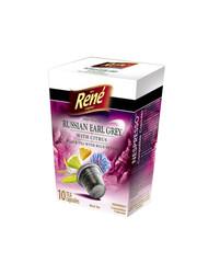 René černý čaj s citronem Earl Grey, kapsle pro Nespresso 10ks
