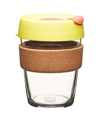 KeepCup Brew Cork Saffron M hrnek 340 ml