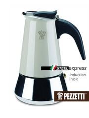 Moka konvice Pezzetti SteelExpress 6 šálků béžová