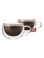 Maxxo DG913 cappucino dvoustěnné termo sklenice 2ks