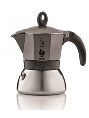 Moka konvice Bialetti Moka Induction na 6 šálků Antracit