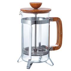 Hario french press 300 ml olivové dřevo
