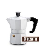 Moka konvice Pezzetti ItalExpress 6 šálků bílá