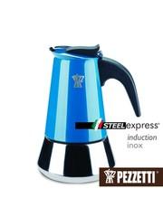 Moka konvice Pezzetti SteelExpress 2 šálky modrá