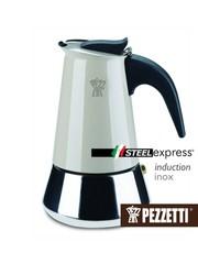 Moka konvice Pezzetti SteelExpress 4 šálky béžová