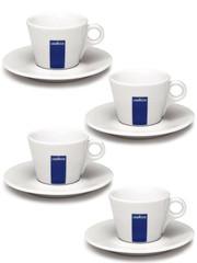 Lavazza LUNGO šálek + talířek (90ml) 4 ks