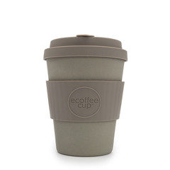 Ecoffee cup Molto Grigio bambusový hrnek, 350 ml