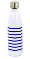 Yoko Design termolahev 500 ml pruhovaná modrá