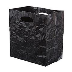 Surplus plastový úložný box 25 x 23 x 15 cm, černá