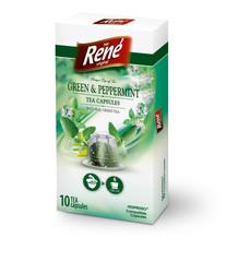 René bylinný čaj heřmánek, máta, fenykl, kapsle pro Nespresso 10ks