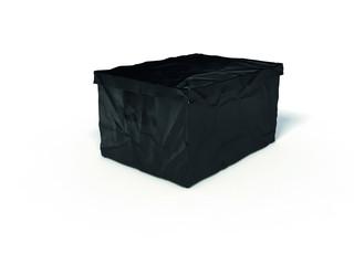 Surplus plastový box s víkem 22 x 40 x 30 cm, černá