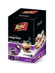 René Lungo Forte kapsle pro Dolce Gusto 16ks