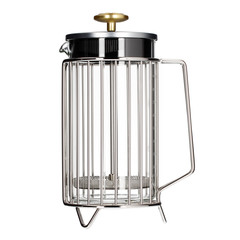 Barista&Co French Press Coral na 8 šálků, Steel