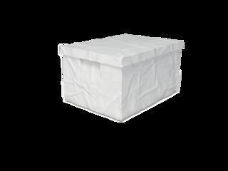 Surplus plastový box s víkem 22 x 40 x 30 cm, bílá