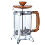 Hario french press 600 ml olivové dřevo