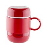 Pioneer DrinkPod termohrnek s ouškem Červený, 280 ml