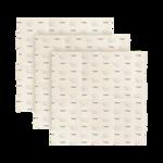 Smidge Sada voskovaných ubrousků s včelím voskem 3ks, 30 x 30cm